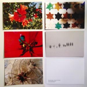 Weihnachtsimpressionen - Foto-Post-Karten von Dorothea Schönfeld